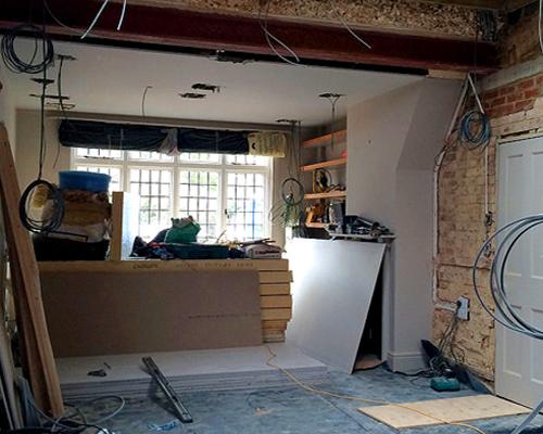 Remodelling interior